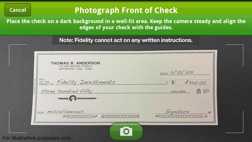 Schwab Deposit Check
