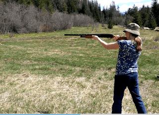 Kris Firing Mossberg 500 Shotgun