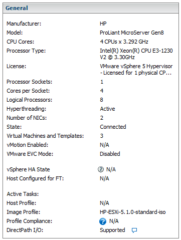 Installed Xeon E3-1230V2 in Gen8 HP Microserver | b3n org