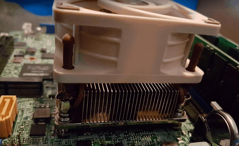 Noctua Fan on Xeon D-1540 X10SDV-F