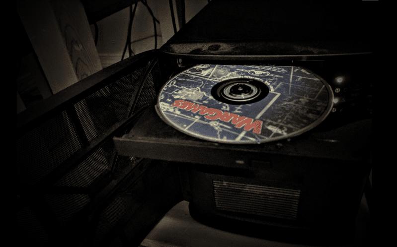 War Games DVD in Tray