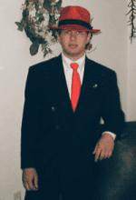 Ben wearing RedHat