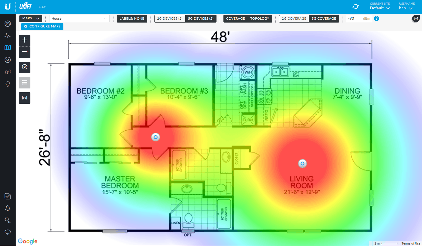 Wireless Mapping Tool
