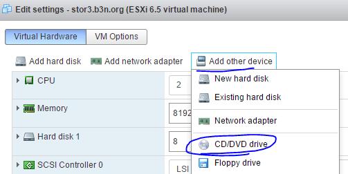 Add CD-ROM