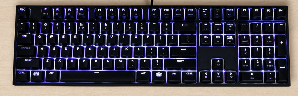 Coolermaster Masterkeys