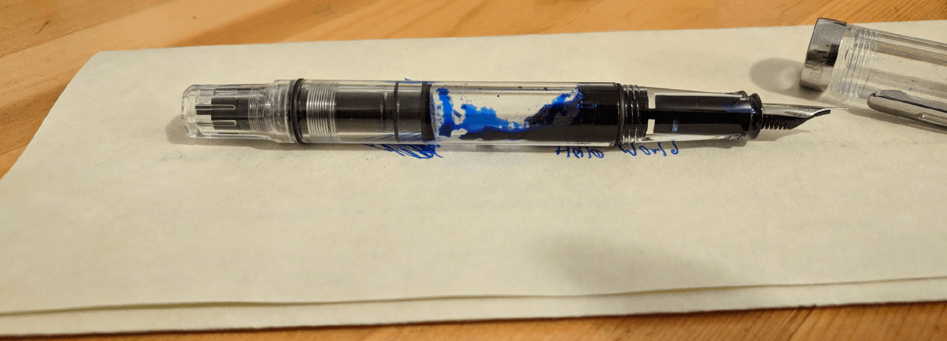 ubuntu fountain pen