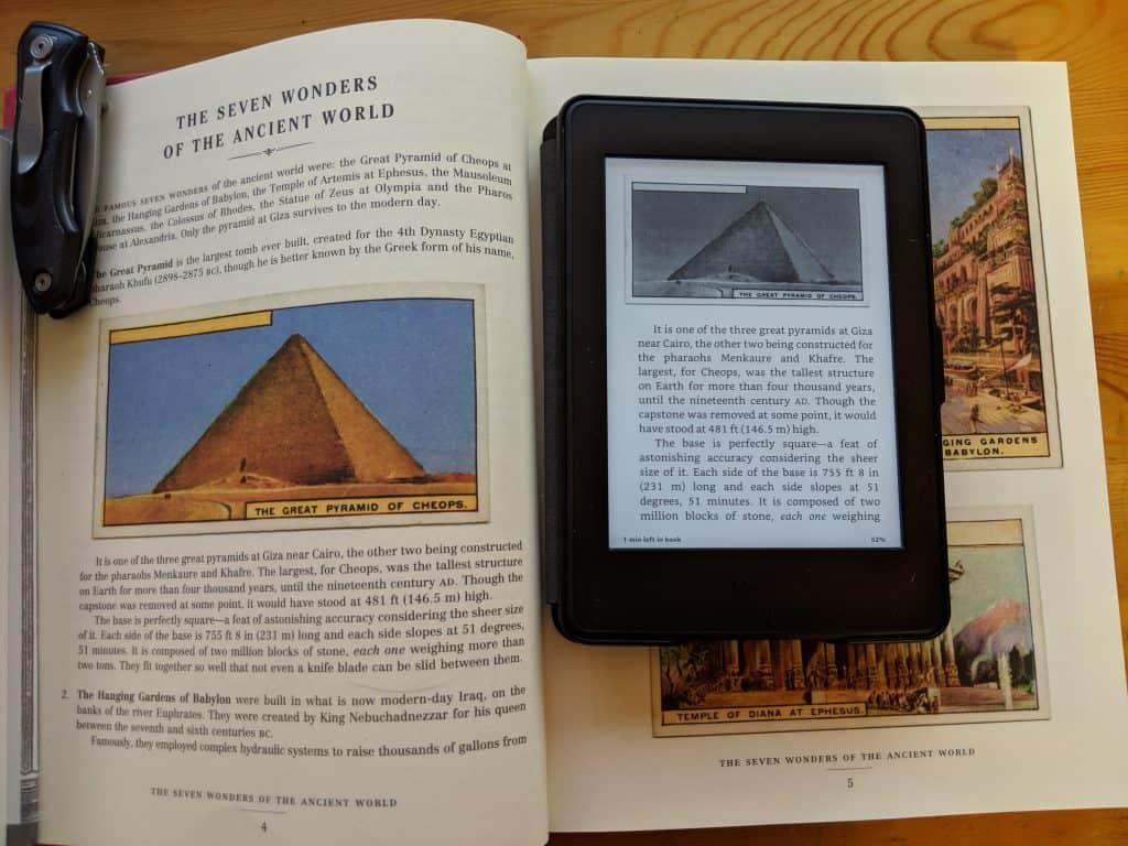 Kindle Lack of Color
