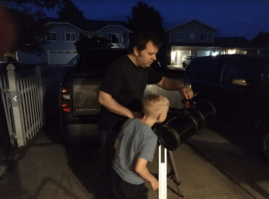 Setting up a Telescope