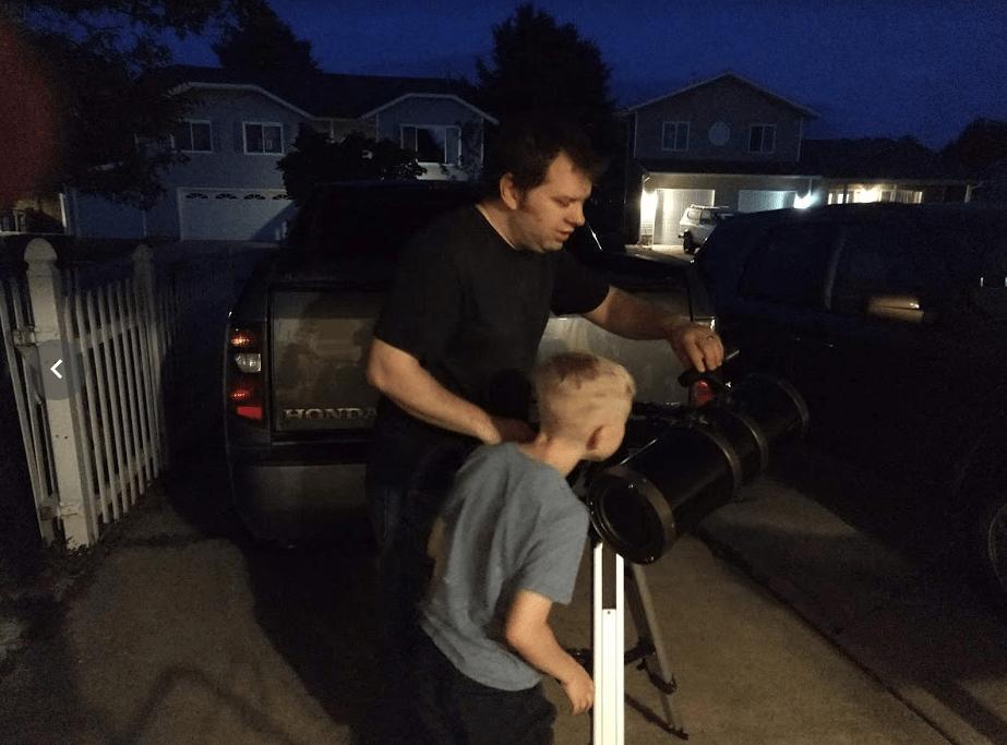 Setting up a Telescope