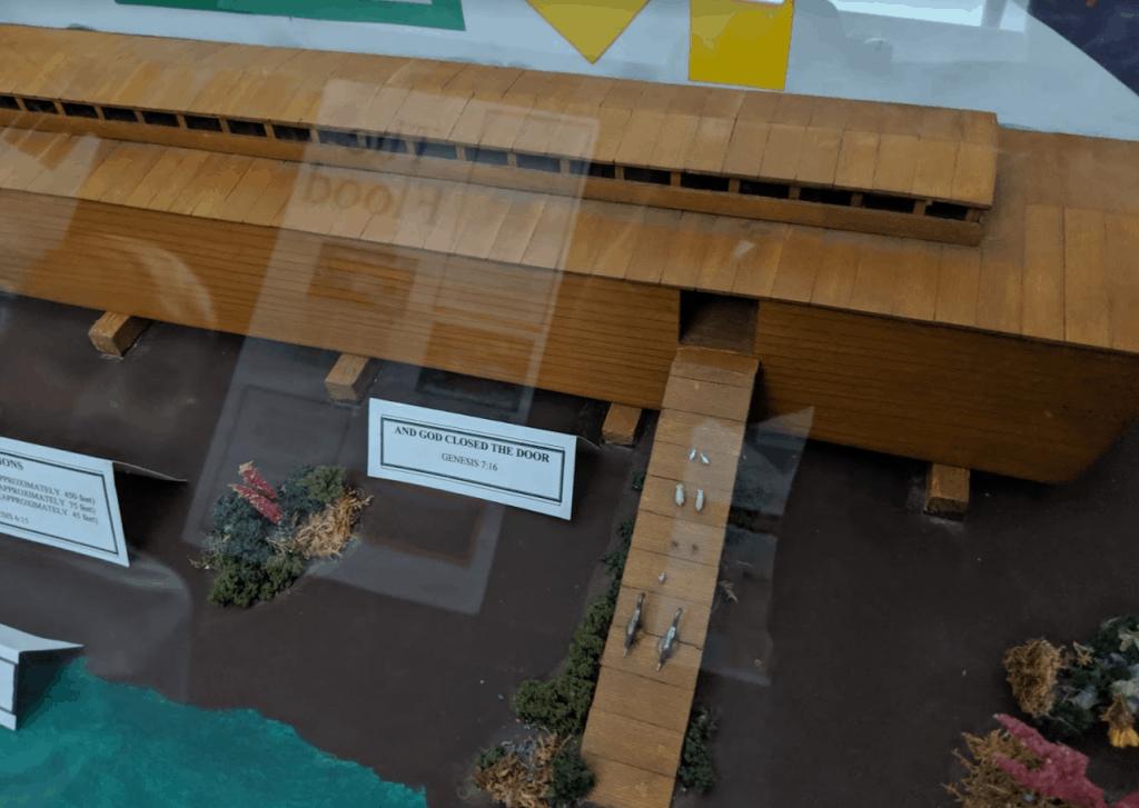 Noak's Ark Model at the Mount St. Helens Creation Center