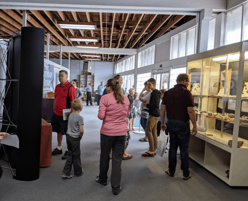 Visitors at the Mount St. Helens Creation Center