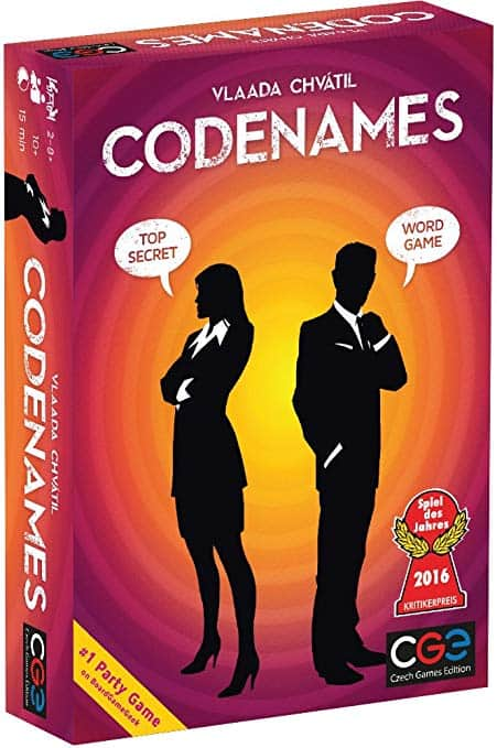 Code Names Board Game