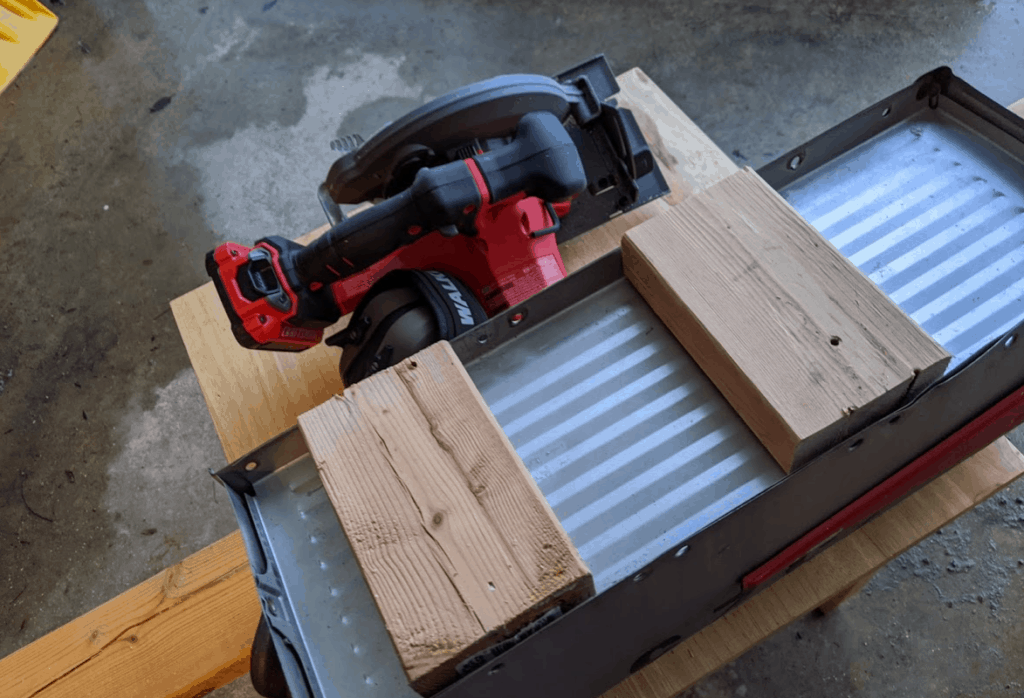 First steps building snow plow proof mailbox