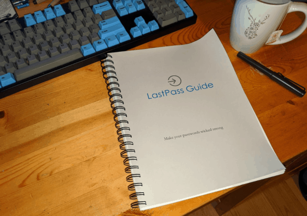 LastPass Guide First Prototype
