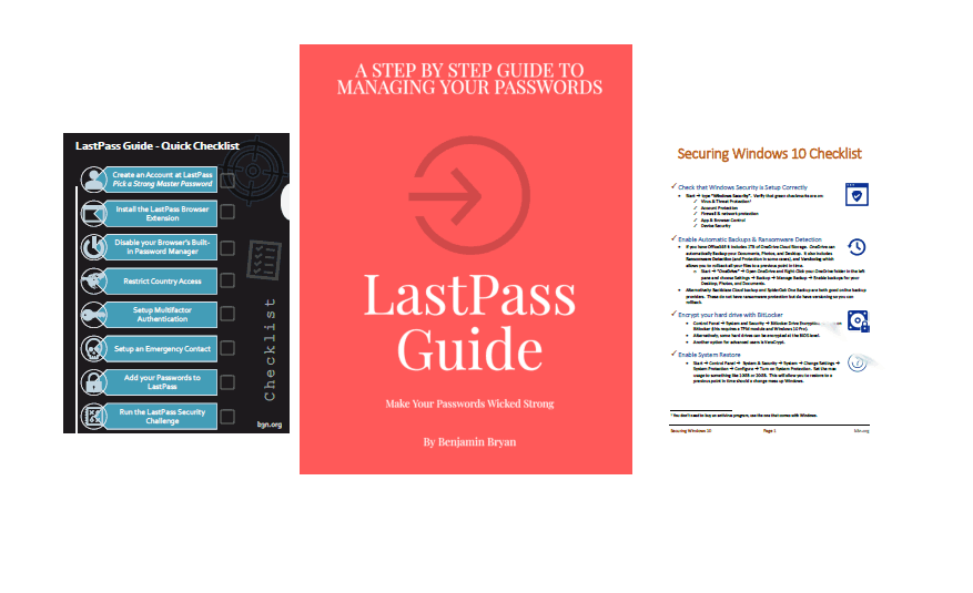 LastPass Guide eBook Package