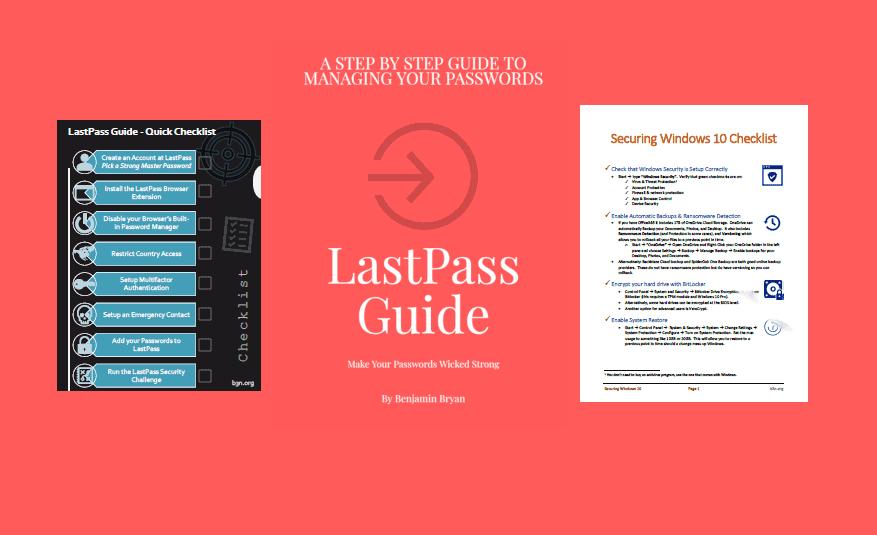LastPass Guide eBook Package