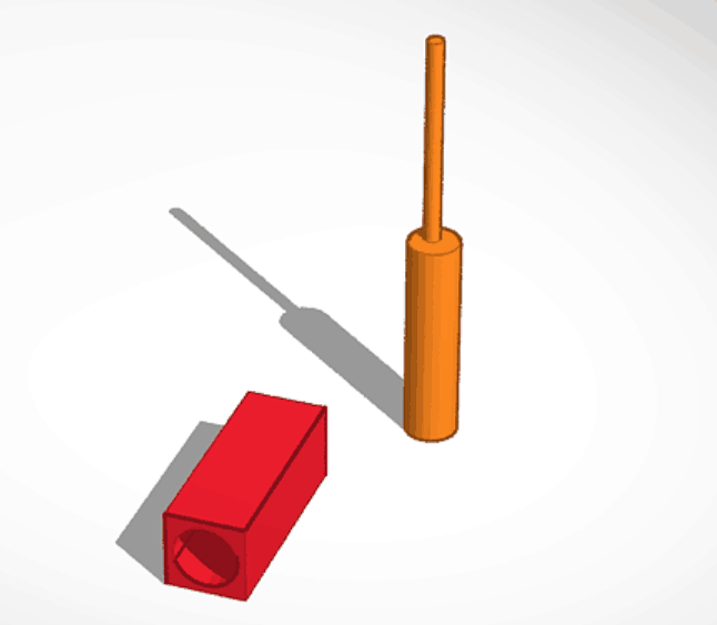 King Oil rig designed in Tinkercad