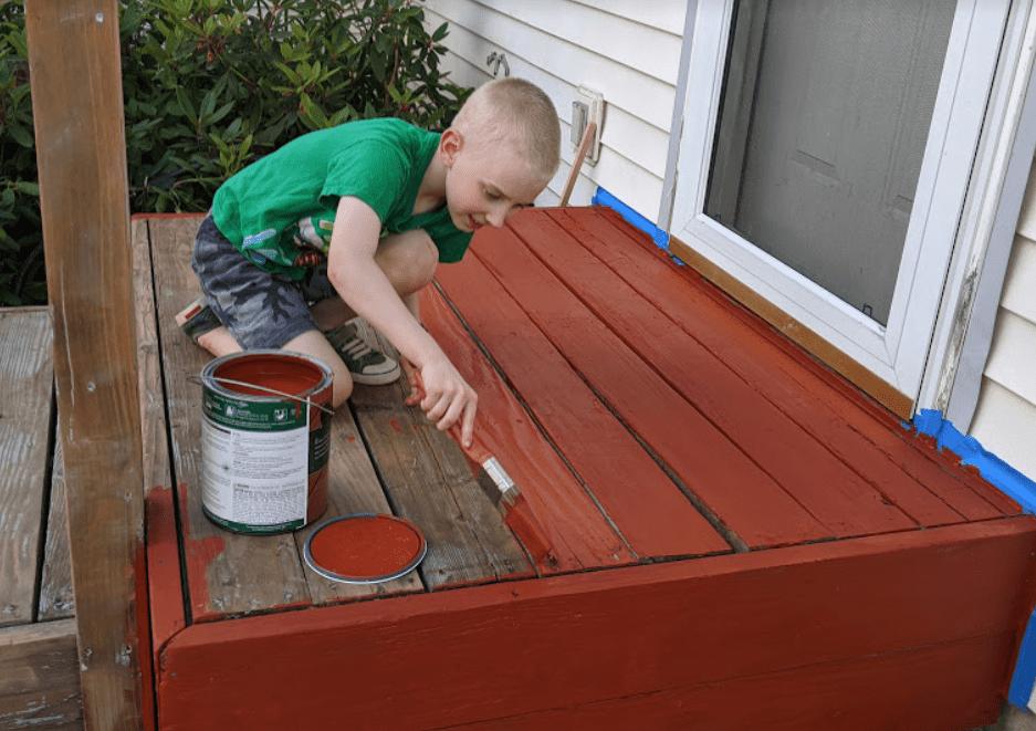 Repainted Deck