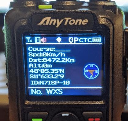 Screenshot showing screen