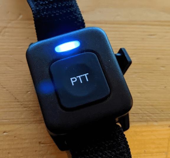 Bluetooth PTT button